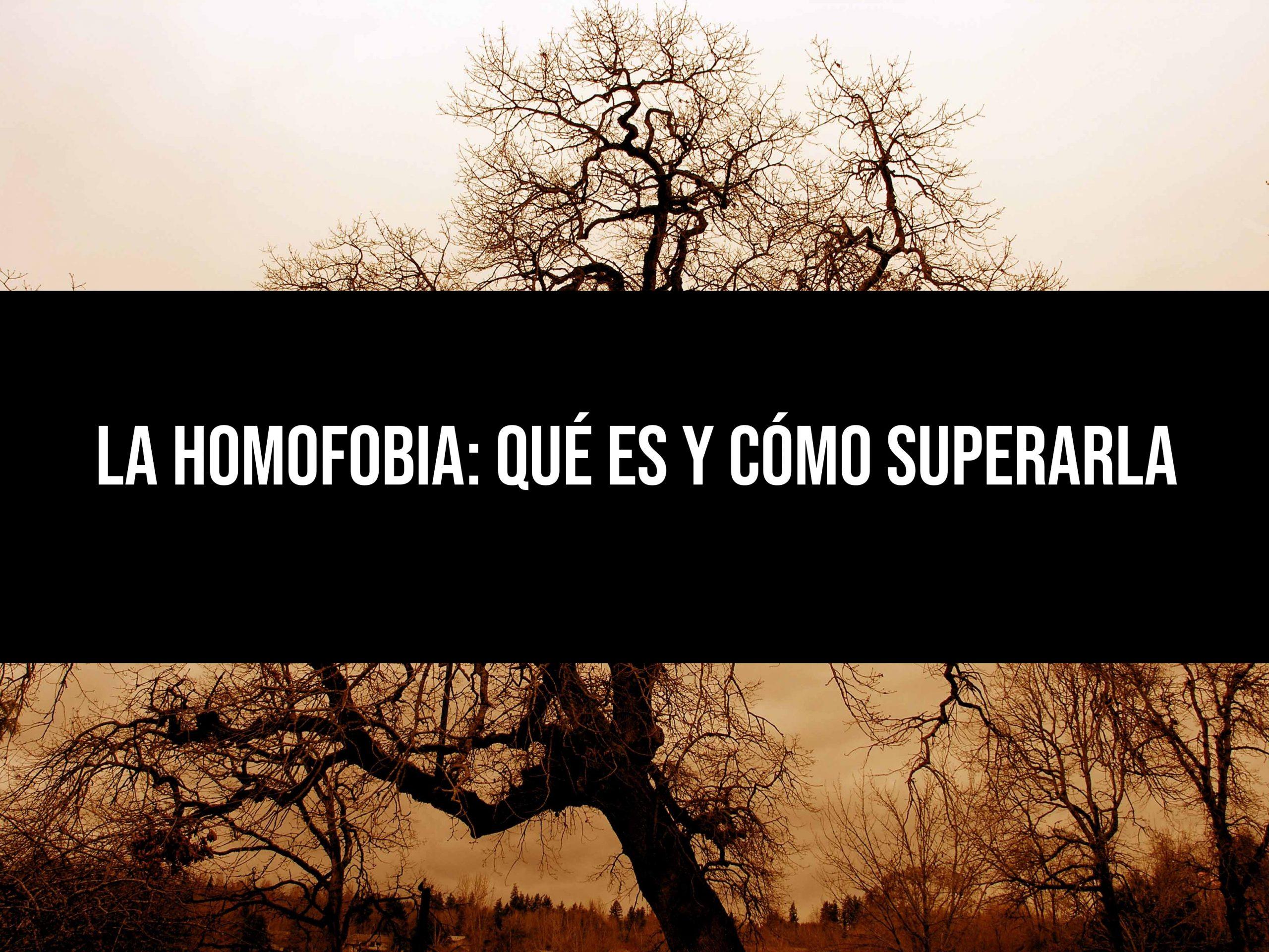 La homofobia: qué es y cómo superarla